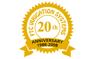 FTC Irrigation Systems 20th Anniversary, 1988-2008